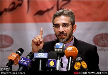 نشست خبری علی باقری