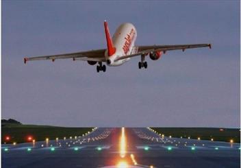 باند دوم فرودگاه کرمان ۷۸ درصد پیشرفت فیزیکی دارد