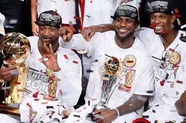 میامی هیت قهرمان NBA شد