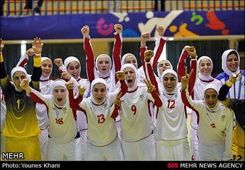 بانوان ایران با شکست اندونزی برای اولین بار فینالسیت شدند/ ژاپن حریف ایران در فینال