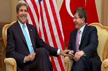داوود اوغلو:اختلافی میان ترکیه وآمریکا وجود ندارد