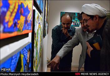 نمایشگاه نقاشی های ننه حسن ( منور رمضانی )