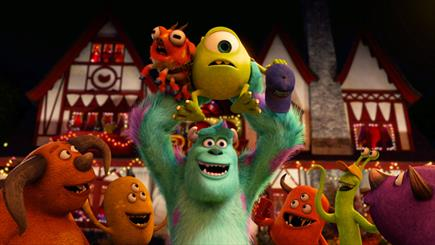 """""""دانشگاه هیولاها"""" در دنیای انیمیشن هنگکنگ رکورد زد"""