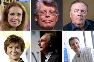 پردرآمدترین نویسندگان سال 2012 معرفی شدند/ نفر اول 95 میلیون دلار!