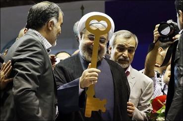 «کلید» چگونه به نماد انتخاباتی روحانی تبدیل شد/ قالیباف باید نماد ساعت را انتخاب می کرد