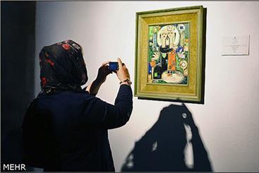 """نگارخانه """"ارغوان"""" در گرگان افتتاح شد"""
