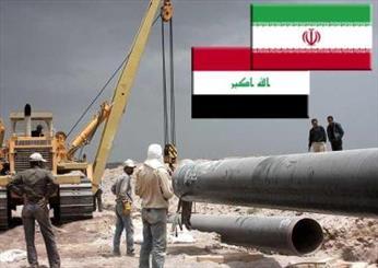 مشروع نقل الغاز الايراني إلى العراق سيبدأ قريباً