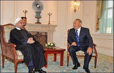 قزاقستان کے صدر تہران کا دورہ کریں گے