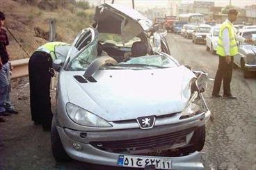 وقوع 3 فقره تصادف فوتی در زنجان