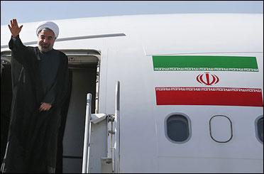 حاشیه های استقبال از روحانی در فرودگاه مهرآباد