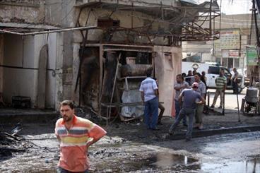 اربعة قتلى بهجوم انتحاري في شمال بغداد