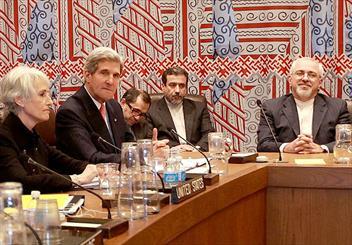 ظریف: گفتگوی نیم ساعتهای با همتای آمریکایی داشتم/ سخنان جان کری هم در جلسه 1+5 مثبت بود