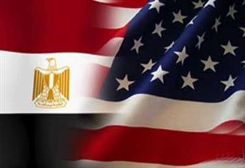 پرچم آمریکا و مصر
