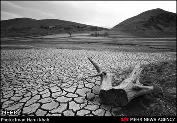 خشکسالی سد اکباتان