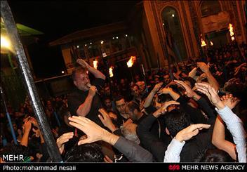 برگزاری اجتماع بزرگ عاشورائیان اراک در مسجد سیدها