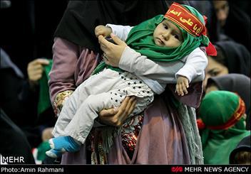 بیعت شیرخوارگان اراکی با علیاصغر(ع)/ مادرانی که فرزندانشان را با عشق امام حسین(ع) بیمه کردند