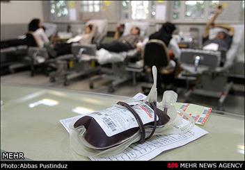توزیع سالانه 6 هزار واحد خون در بیمارستانهای کشور