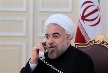 رییس جمهوری سال نو را به رهبر معظم انقلاب تبریک گفت