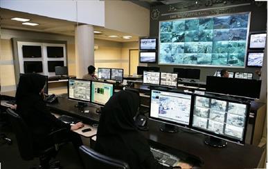 مرکز کنترل ترافیک تبریز