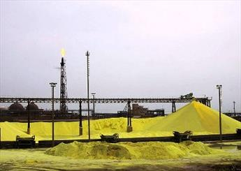 Iran doubles sulfur production, eases export