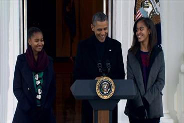 اوباما استفاده از فیسبوک را برای دخترانش محدود کرد