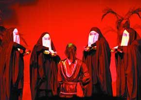نمایش رقص ابلیس در ورامین به روی صحنه می رود