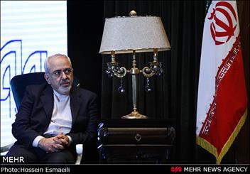 بررسی مبارزه با تروریسم در نشست ظریف و مقام ارشد مجلس اعلای عراق