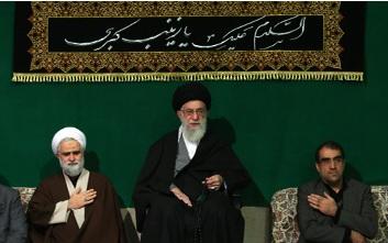 مراسم اربعین حسینی در محضر رهبر معظم انقلاب برگزار شد