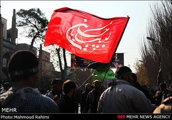 گردهمایی بزرگ عاشوراییان حسینی در شرق تهران