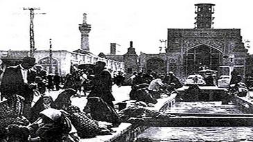 قدیمی ترین عکسهای حرم امام رضا(ع)/تصاویر