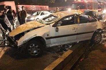 کورس مرگبار در بزرگراه حکیم/ 3 نفر کشته و 6 نفر مجروح شدند