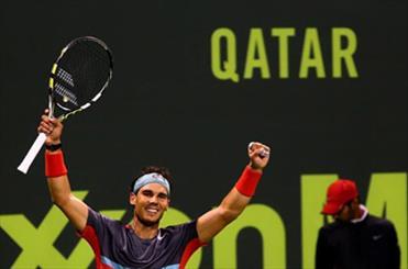 رافائل نادال قهرمان تنیس آزاد قطر شد