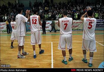 تیم بسکتبال دانشگاه آزاد مستحق پیروزی در قزوین بود