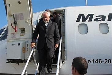 Zarif arrives in India