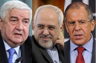 نشست مشترک وزرای خارجه ایران روسیه و سوریه در مسکو برگزار میشود