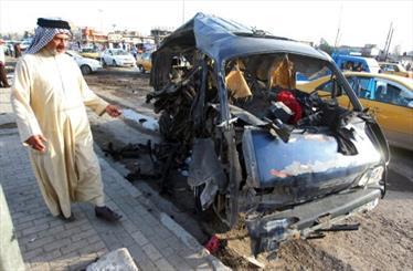 سلسله انفجارهای امروز بغداد بیش از 50 کشته و زخمی بر جا گذاشت