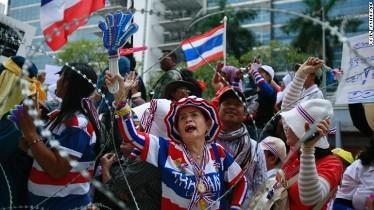حالت فوق العاده در بانکوک لغو شد