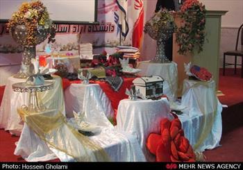 جشن ازدواج دانشجویی در دانشگاه آزاد گناوه برگزار شد