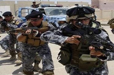 آماده شدن نیروهای امنیتی عراق برای بازپس گیری سد فلوجه