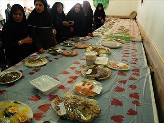 جشنواره غذاهای سنتی روستاییان در خرمشهر برگزار شد