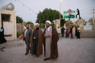 دیدار مردمی مدیرکل تبلیغات اسلامی بوشهر با اهالی سعدآباد برگزار شد