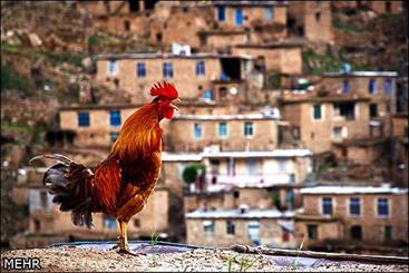 تلفیق معماری و زیبایی های طبیعی در روستاهای تاریخی کردستان