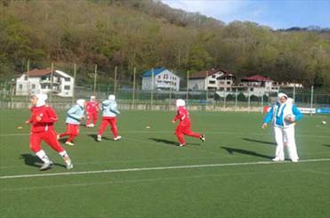 کار تیم فوتبال بانوان نوجوان در مسابقات قهرمانی آسیا سخت است