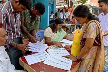 بھارت میں عام انتخابات کے شیڈول کا اعلان