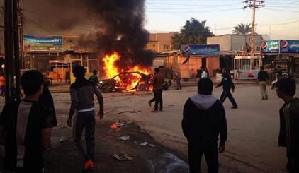 تفجير انتحاري  بمنطقة الشعب شمال بغداد يسفر عن 50 قتيلاً وجريحاً على الاقل