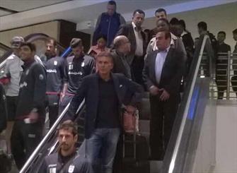 تیم ملی فوتبال وارد ژوهانسبورگ شد/ بازیکنان چهار باشگاه پنجشنبه میرسند
