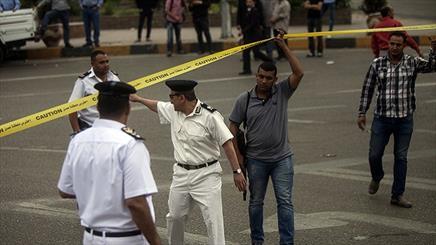 انفجار هائل امام القنصلية الايطالية في القاهرة