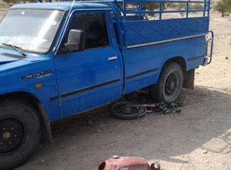 ۱ کشته و ۵ زخمی درپی برخورد نیسان به دسته عزاداران حسینی