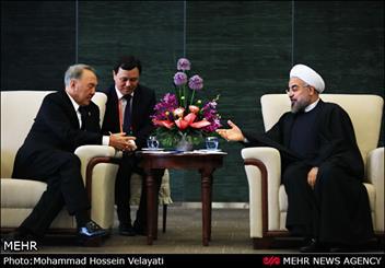 روحانی با دبیرکل سازمان ملل دیدار کرد/ دیدار با همتایان قزاق و سریلانکایی