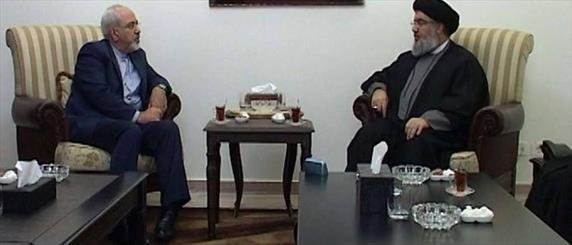 پیام ظریف به دبیرکل حزب الله و وزیر خارجه لبنان